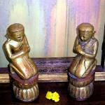 """twoprayingbuddhas"" by ARTNABOX"