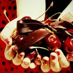 """cherries hand texture"" by ReneeWatersPhotography"