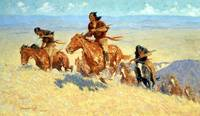 Buffalo Runners-Big Horn Basin (1909) by Remington