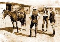Buying Polo Ponies in the West (1910) by Remington