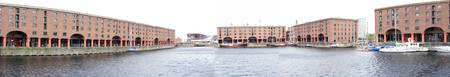 Albert Docks Panoramic