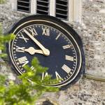 """Clock Face at Chelmsford cathedral"" by tomgnt"