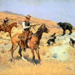 """His Last Stand (c.1890) by Frederick Remington"" by ArtLoversOnline"