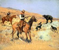 His Last Stand (c.1890) by Frederick Remington