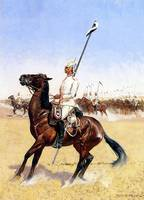 Imperial Lancers (1890) by Frederick Remington