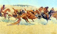 Indian Warfare (1908) by Frederick Remington