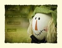 Scarecrow with Quote
