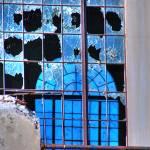 """Outside Windows at old Salt Cr Oilfield Power Plan"" by SamSherman"