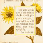 """First Morning, from 1890 book Bible Sunflowers"" by arcaniumantiques"