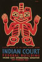 Indian Court, Golden Gate Exposition 1939 by WorldWide Archive