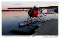 Float Plane on Great Slave Lake