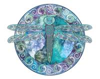 Cool Celtic Dragonfly