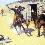 """The Apaches (1904) by Frederick Remington"" by ArtLoversOnline"
