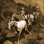 """The Bell Mare (1904) by Frederick Remington"" by ArtLoversOnline"