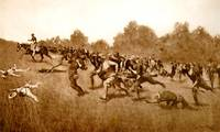 The Charge of the Rough Riders (1899) by Remington