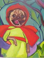 Lolly Red Riding Hood (Happy Pug)