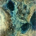 """Blue Maze 3"" by JoyceDickens"