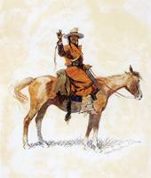 The Chieftain (1905) by Frederick Remington
