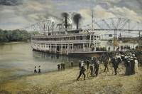 Steamboat on the Mississippi Landing