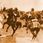 """The Lame Deer Fight (1898) by Frederick Remington"" by ArtLoversOnline"