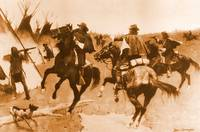 The Lame Deer Fight (1898) by Frederick Remington