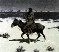 The Luckless Hunter (1909) by Frederick Remington