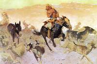The Navajo Raid (1910) by Frederick Remington