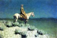 The Night Herder by Frederick Remington