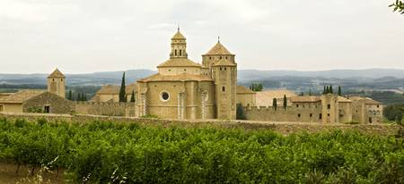 The Monastery of Santa Maria de Poblet, Spain