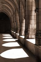 Cloister at Brou, Bourg-en-Bresse, France