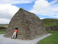 Anyone Home? Galarus Oratory, Co. Kerry