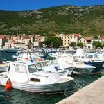 """Small fishing boats"" by Croatia"