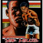 """joe louis, the brown bomber"" by EARLFERGUSON"