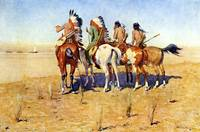 The Pioneers (1904) by Frederick Remington