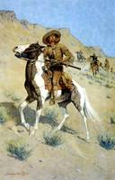The Scout (1902) by Frederick Remington