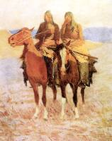 The Scouts (1908) by Frederick Remington