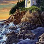 """Bass Harbor Lighthouse"" by RobertWince"