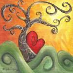 """One Happy Heart"" by funkybrush"