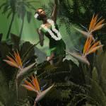 """Hula Praise"" by oilnwine"