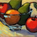 """""""Bowl of Fruit 5"""" by KonnieKim"""