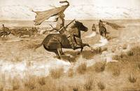 The Stampede (1904) by Frederick Remington