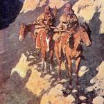 """Unknown Explorers (1906) by Frederick Remington"" by ArtLoversOnline"