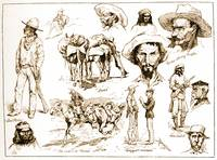 Types from Arizona by Frederick Remington