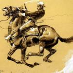 """Ugly by Frederick Remington"" by ArtLoversOnline"