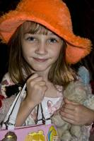 jennifer with Orange hat