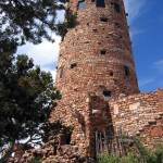 """Desert View Watchtower Grand Canyon South Rim"" by CrypticFragments"