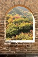 The Great Wall Window by Carol Groenen