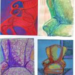 """4_chairs"" by carolhoughton"