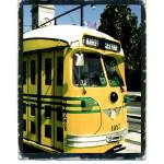 """SFoto Ferry Terminal Trolley Car"" by sfoto"