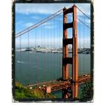 """SFoto Golden Gate Bridge"" by sfoto"